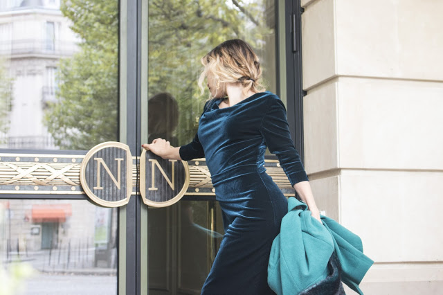 Whitney's Wonderland UK Luxury Travel Blogger shares her experience at Hotel Napoleon Paris wearing Precis Petite showcasing aw15 fashion trends.