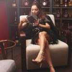 PARTY SEASON DRESS EDITORIAL AT LA MAISON REMY MARTIN