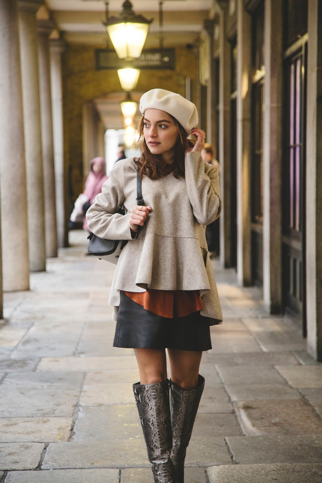 Whitney s Wonderland UK Luxe Fashion Blogger shares her tips on How to Style  a Beret. e00f0ecdfc8