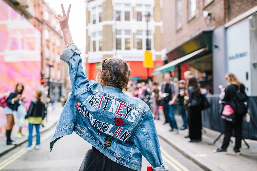 Diy Vintage Levis Denim Jacket And Tutu Skirt Second Look For Lfw