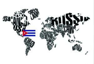 World Map Cuba