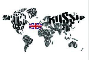 World Map UK