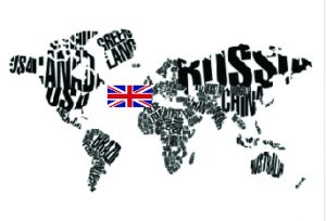World Map UK