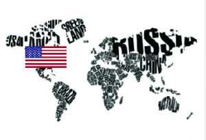 World Map USA