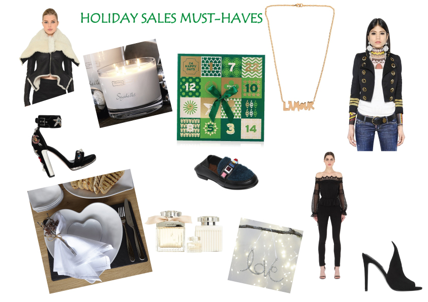 Cyber Holiday Sales must haves