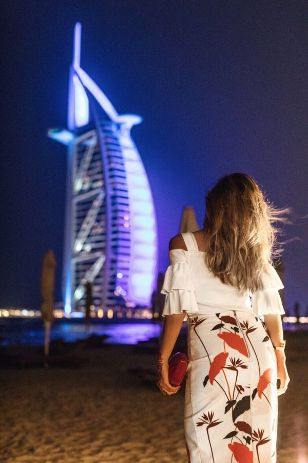 Whitney's Wonderland NYC Top Fashion and Travel Blogger at Burj al Arab