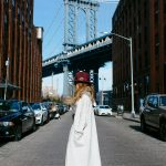BELL BOTTOMS AND CORSET BELT IN MANHATTAN BRIDGE
