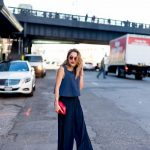 DRESSY TOP AND TROUSERS FOR THE PARTY SEASON