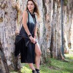 AURIC DRESS AND UNO DE 50 NECKLACE