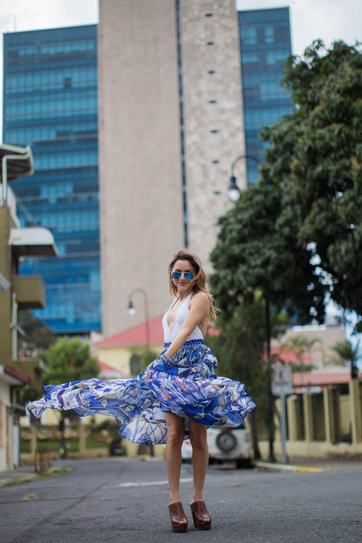 Whitney's Wonderland Camilla with love skirt