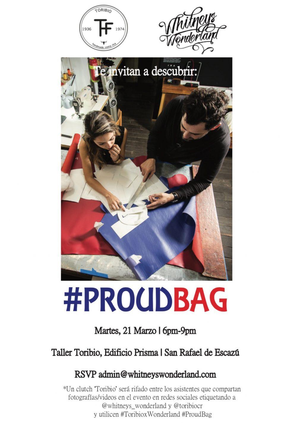 Toribio x Wonderland Costa Rican Fashion Design collaboration #ProudBag
