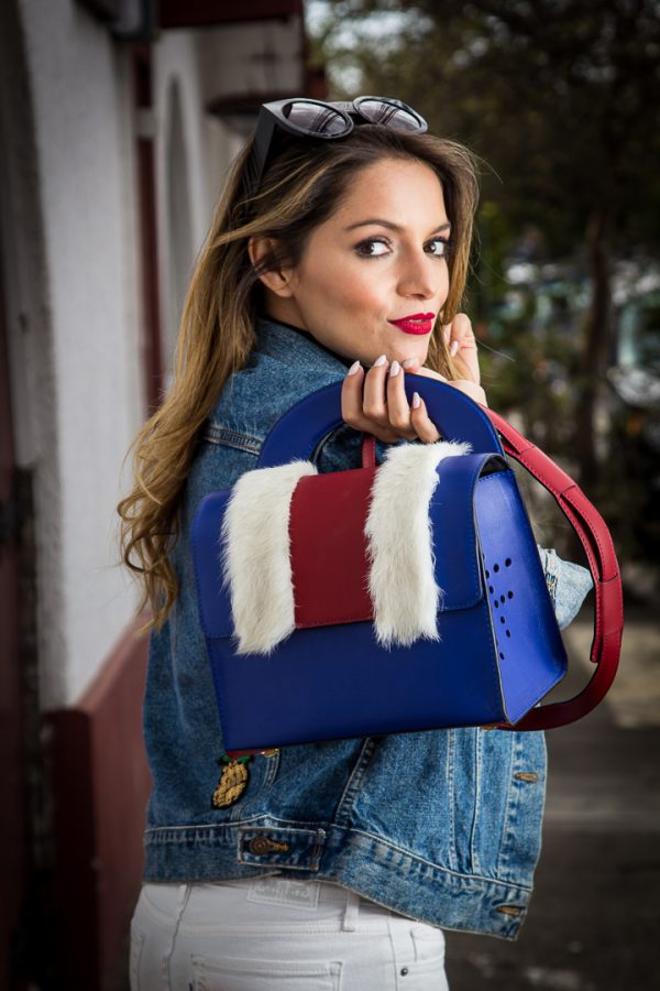 Proud Bag collaboration between UK Top Fashion Blogger Whitneys' Wonderland and Toribio