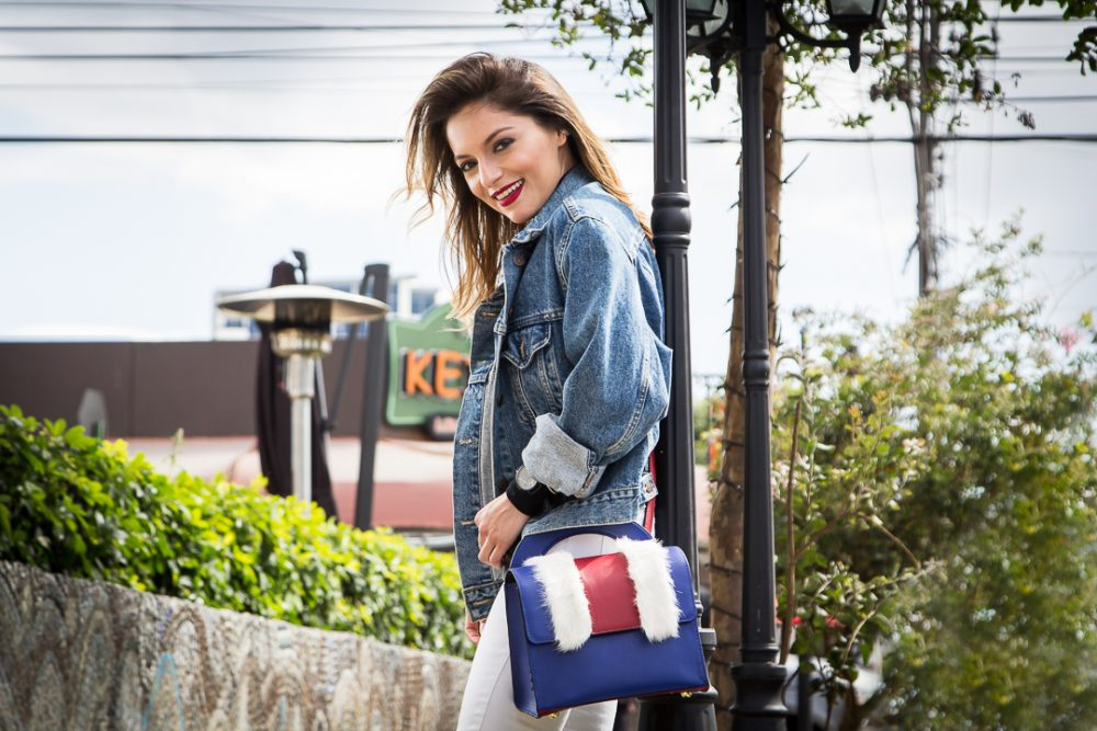 Whitney Valverde Fashion Designer Top Blogger Whitney's Wonderland Proud Bag