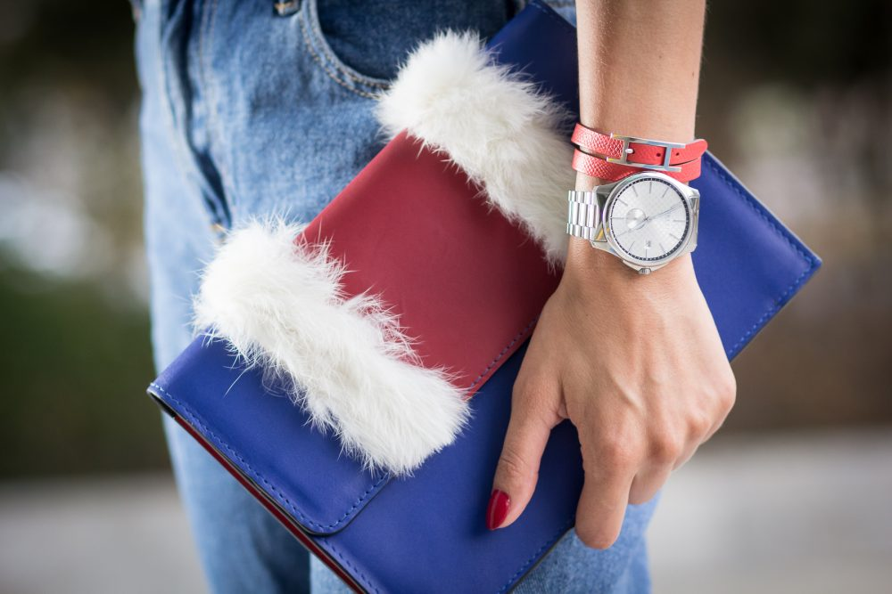 Whitney's Wonderland UK Top Fashion Blogger wears ToribioxWonderland #ProudBag and The Watch Gallery Gucci watch