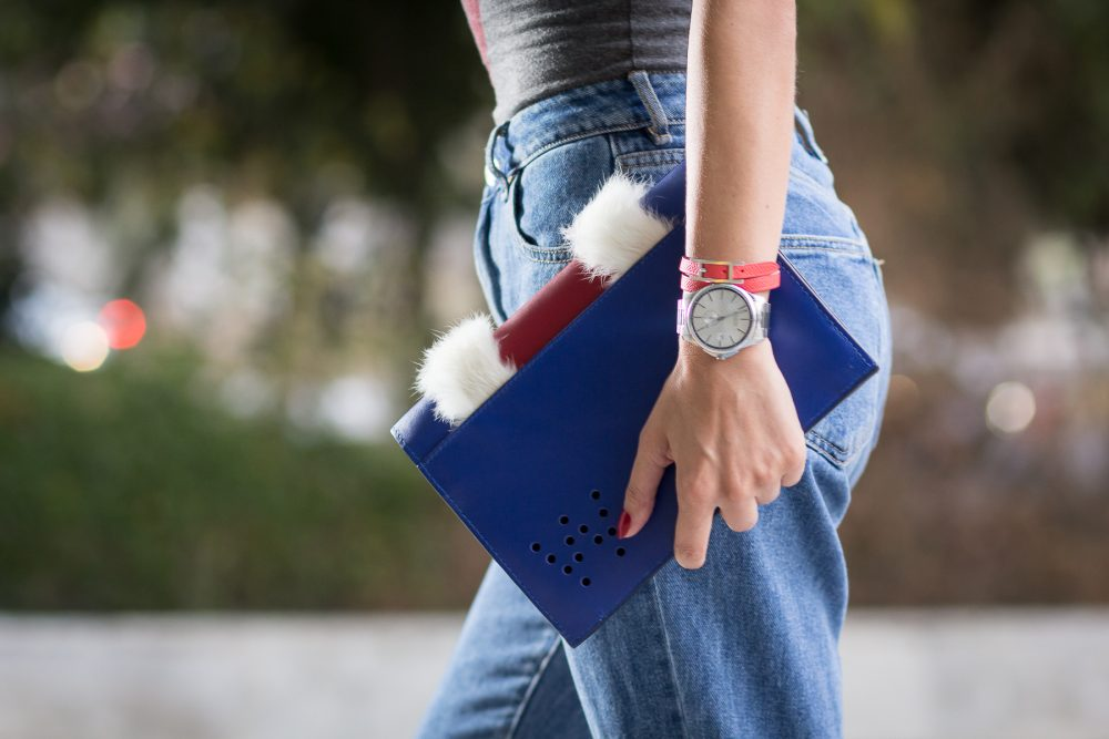 Whitney's Wonderland UK Top Fashion Blogger wears Whitney Valverde #ProudBag and The Watch Gallery Gucci watch