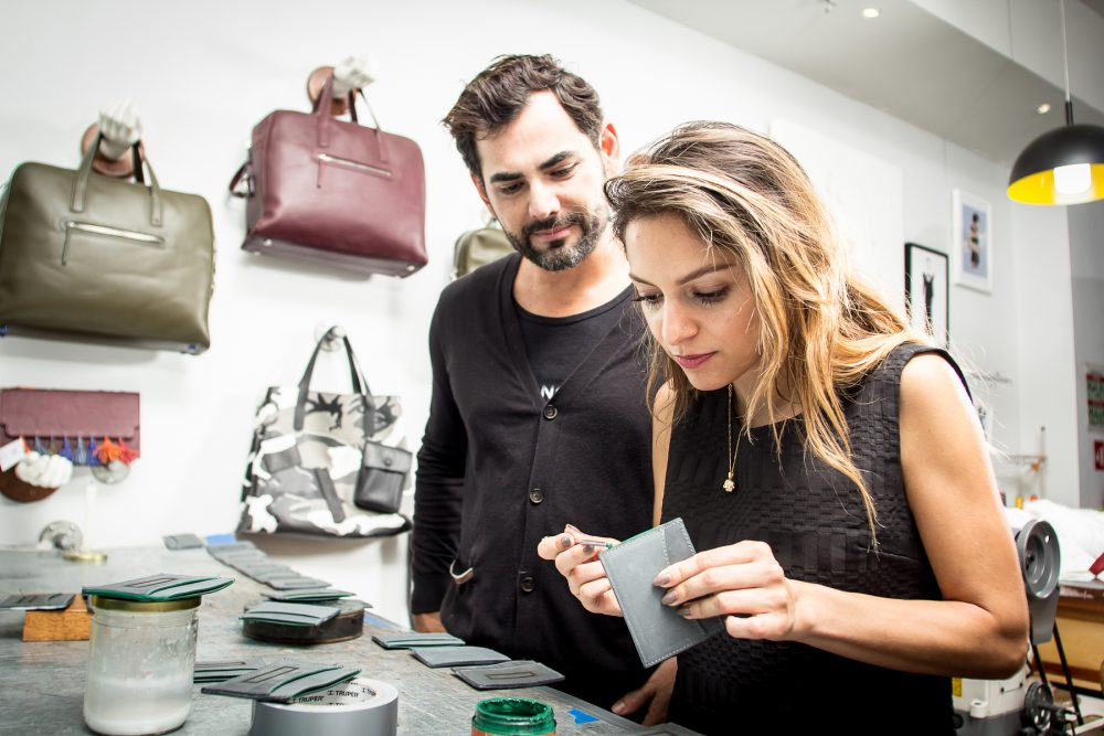 Luxury Costa Rican leather goods Designer Toribio and Top Blogger and Designer Whitney's Wonderland collaboration