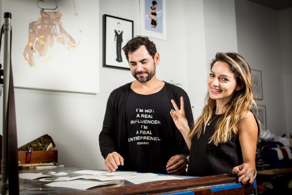 Luxury Costa Rican leather goods Designer Toribio and Top Blogger and Designer Whitney's Wonderland collaboration #ProudBag