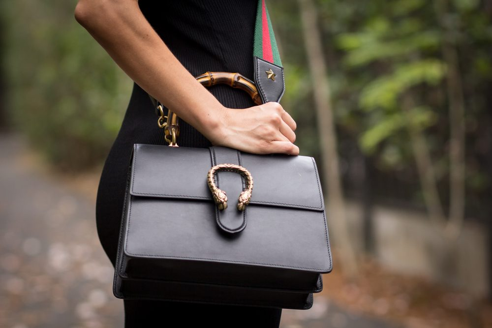 Whitney's Wonderland UK Top Costa Rican Fashion Blogger wears dionysus Gucci black bag