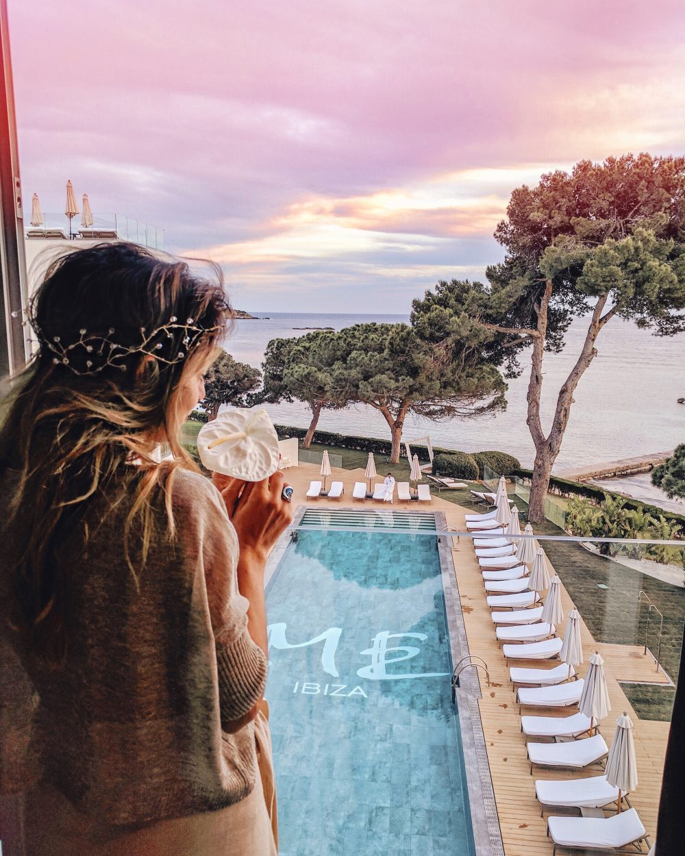 Whitney's Wonderland UK Top Luxury Travel Blogger at ME Ibiza Hotel