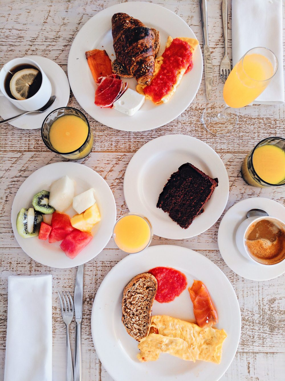 Whitney's Wonderland UK Top Luxury Travel Blogger ME Ibiza Hotel breakfast