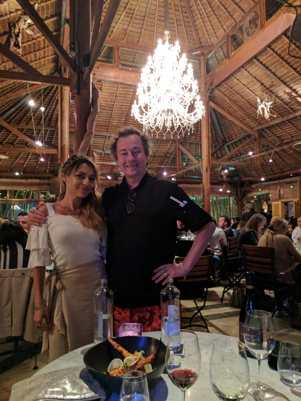 Whitney's Wonderland NYC Top Travel Blogger Bambuddha Ibiza chef