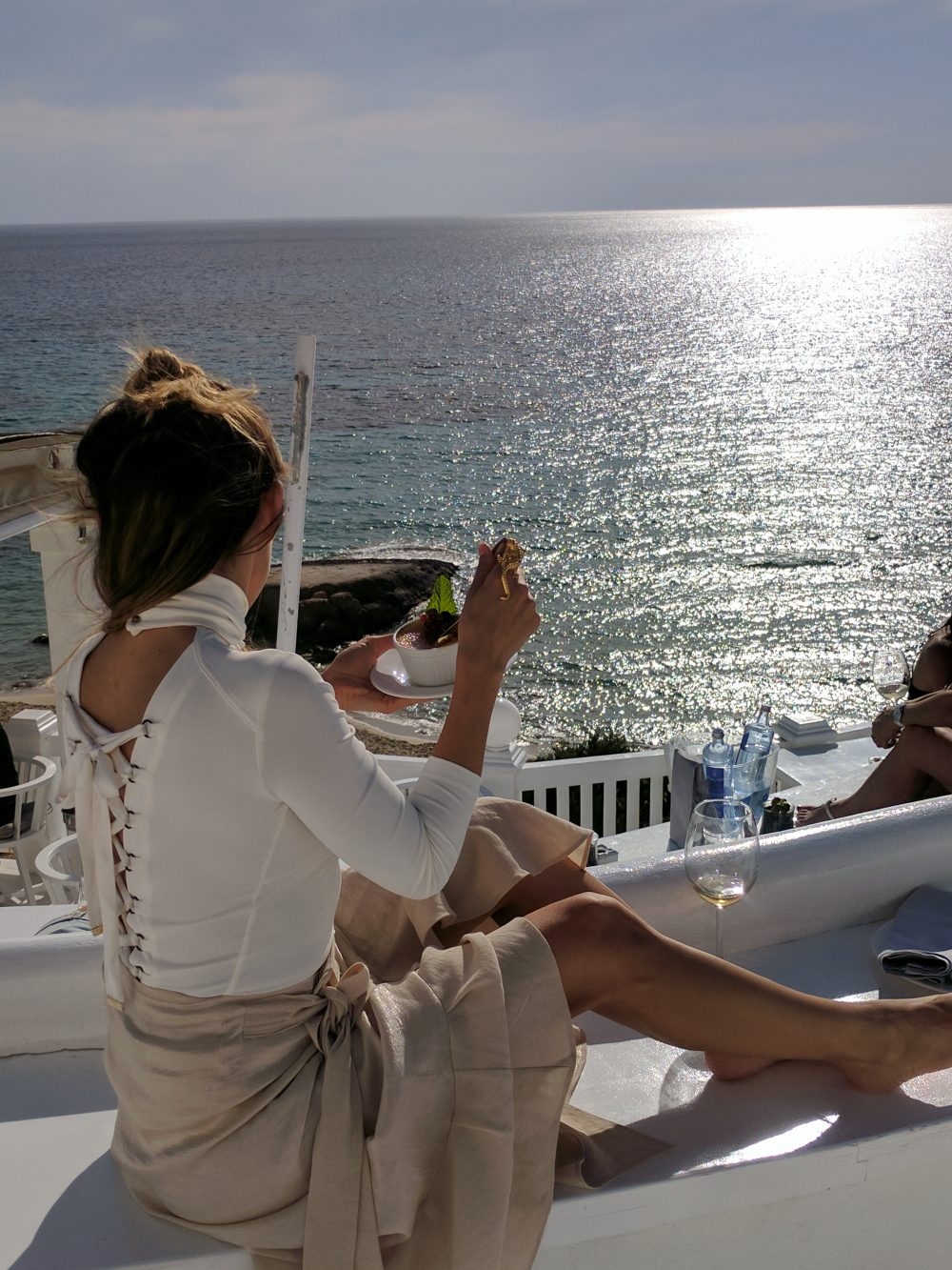 Whitney's Wonderland UK Top Travel Blogger Cotton Beach Club lunch Ibiza sunset