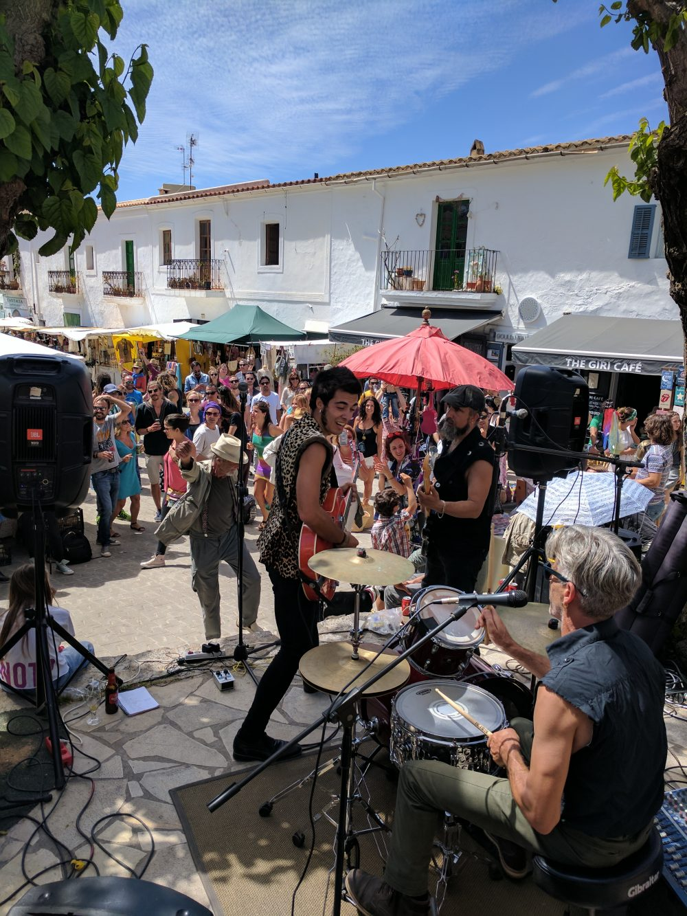 Whitney's Wonderland UK Top Travel Blogger in San Juan mercadillo sunday in Ibiza concert