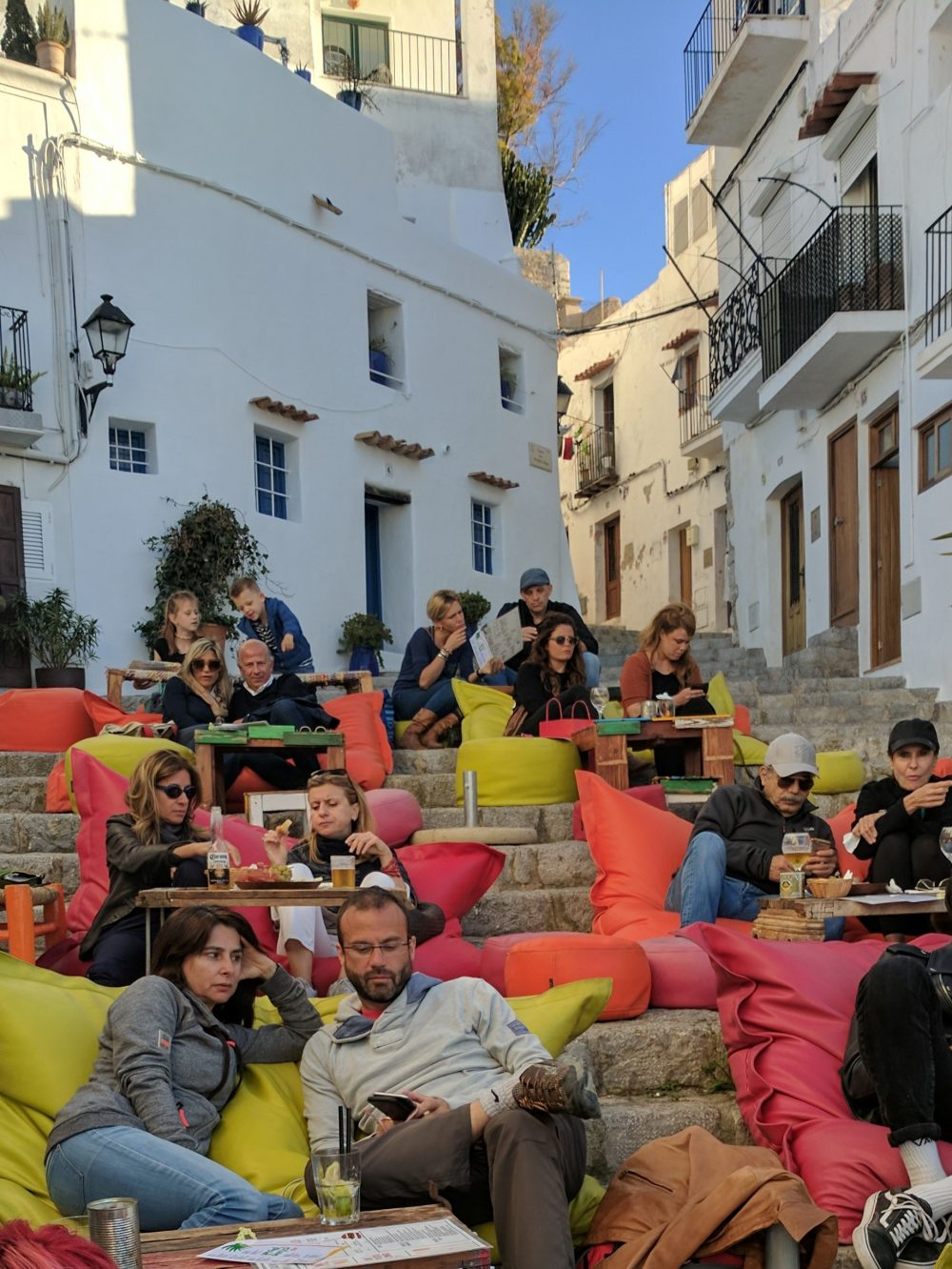 Whitney's Wonderland UK Top Travel Expert in Dalt Vila Old Town Ibiza