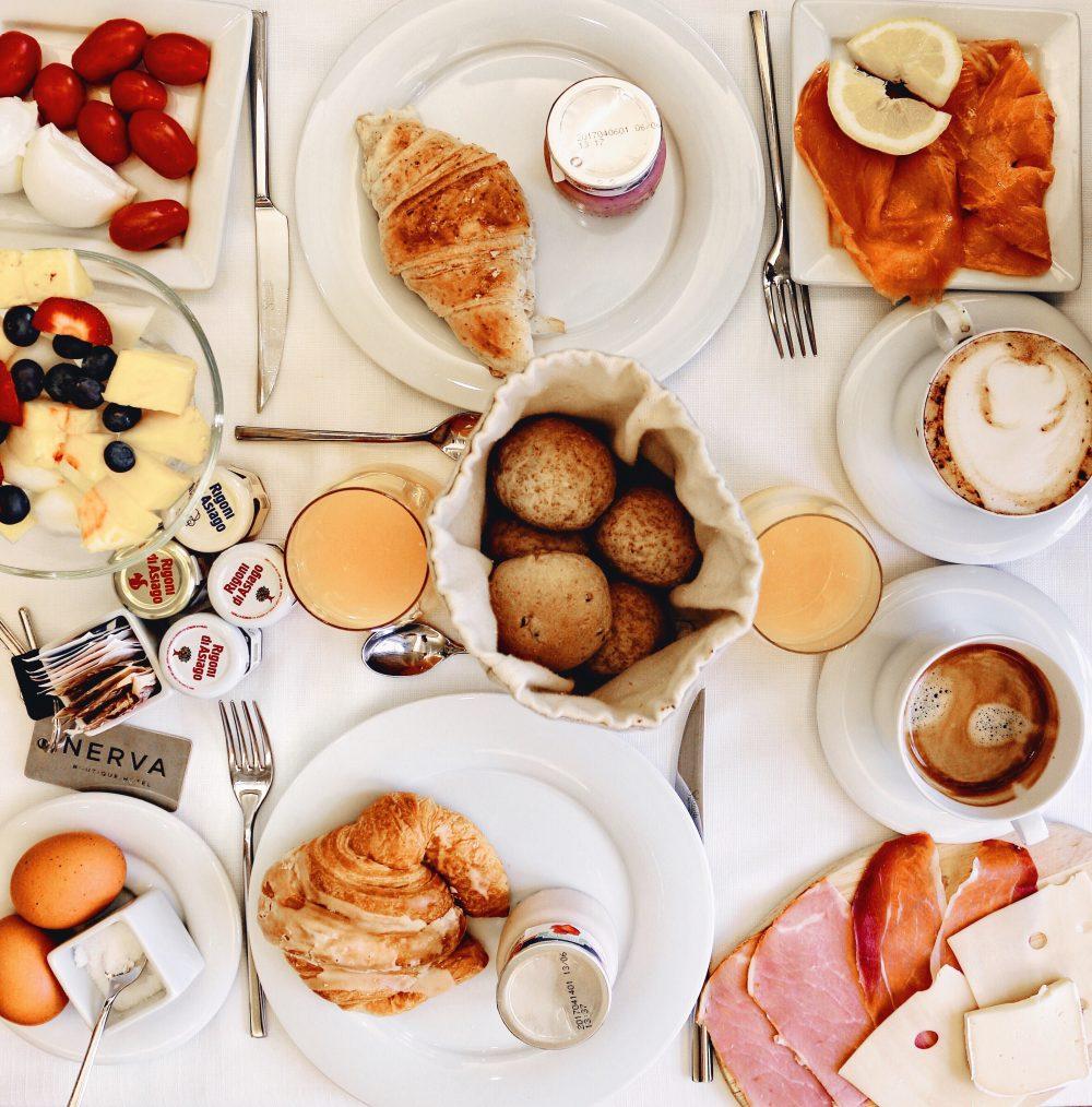 Whitney's Wonderland Top UK Luxury Travel Blogger breakfast Nerva boutique hotel