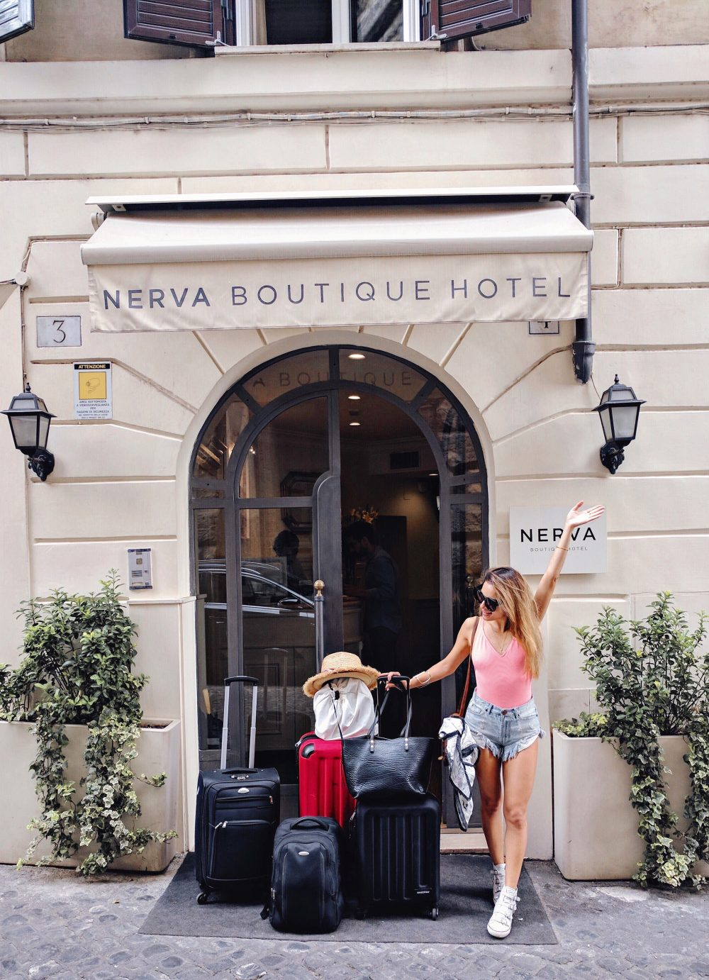 Whitney's Wonderland where to stay in Rome Nerva Boutique Hotel