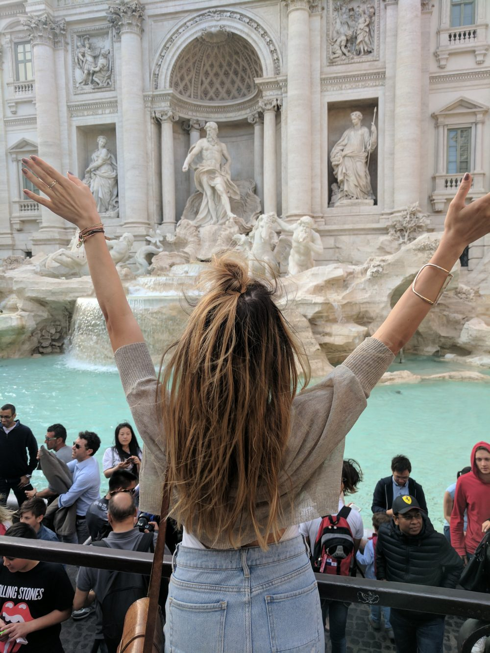 Whitney's Wonderland UK Top Travel Blogger Guide fontana di trevi