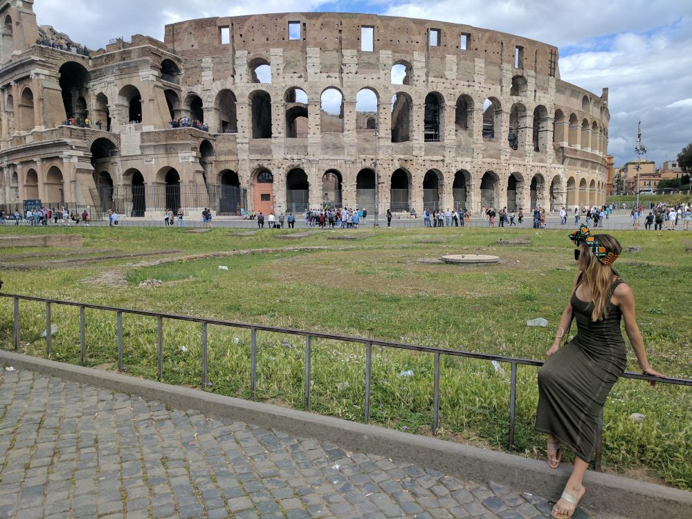 Whitney's Wonderland UK Top Travel Blogger Guide colosseum