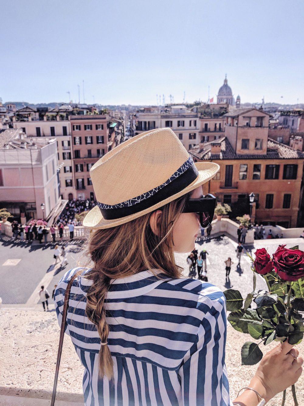 Whitney's Wonderland UK Top Travel Blogger Guide Spanish steps