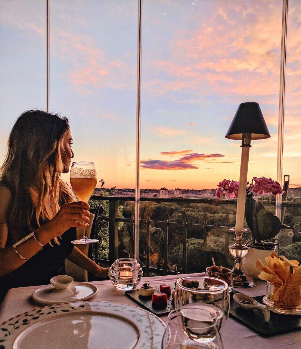 Mirabelle Splendide Rome most romantic restaurant in the world