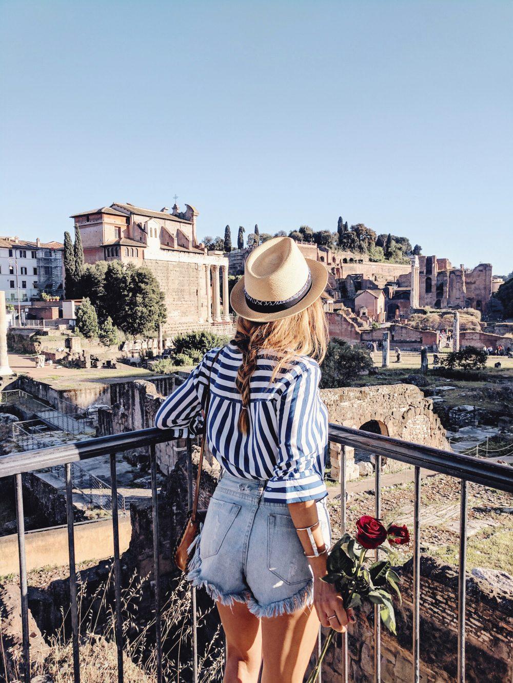 Whitney's Wonderland UK Top Travel Blogger Guide Roman Forum