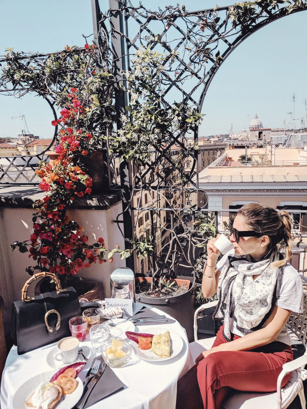 Whitney's Wonderland Top Luxury Travel Blogger brunch Hotel Isa