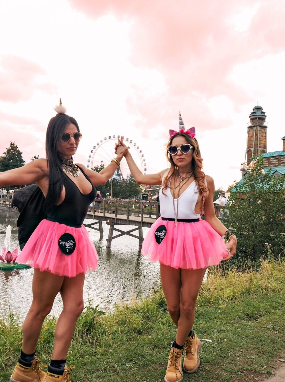 Whitney\u0027s Wonderland UK Top Fashion Blogger unicorn festival style outfits  Tomorrowland Belgium 2017