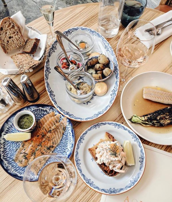 Whitney's Wonderland UK Top Restaurant Blogger Aquavit London review