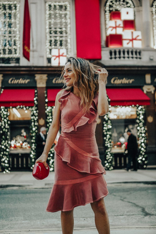 Whitney's Wonderland UK Top Luxury Fashion Blogger 10 Party Dresses for the Festive Season Cartier Bond Street
