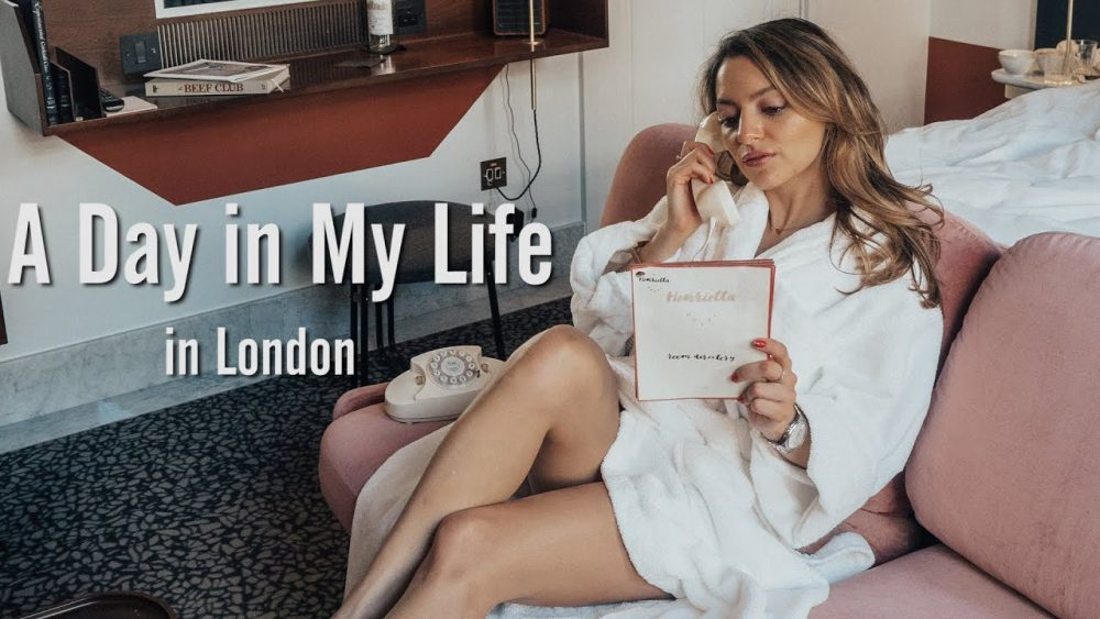Whitney's Wonderland UK Top Fashion Blogger shares 'A Day in My Life in London' vlog taking us through a day in the life of a full-time Blogger.
