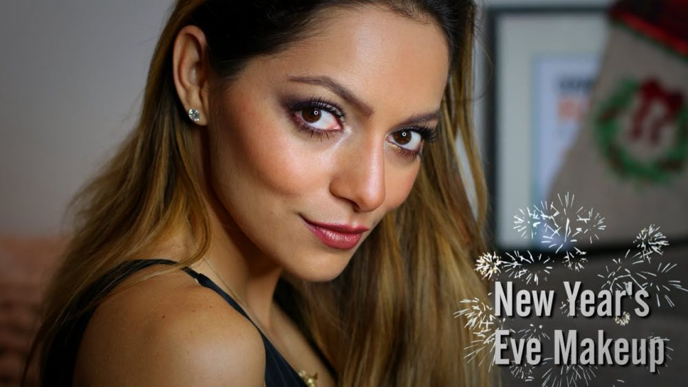 GRWM: Whitney's Wonderland UK Top Beauty Blogger New Years Eve Makeup Tutorial using Armani Beauty. Get your hair, makeup, and outfit ready to party!