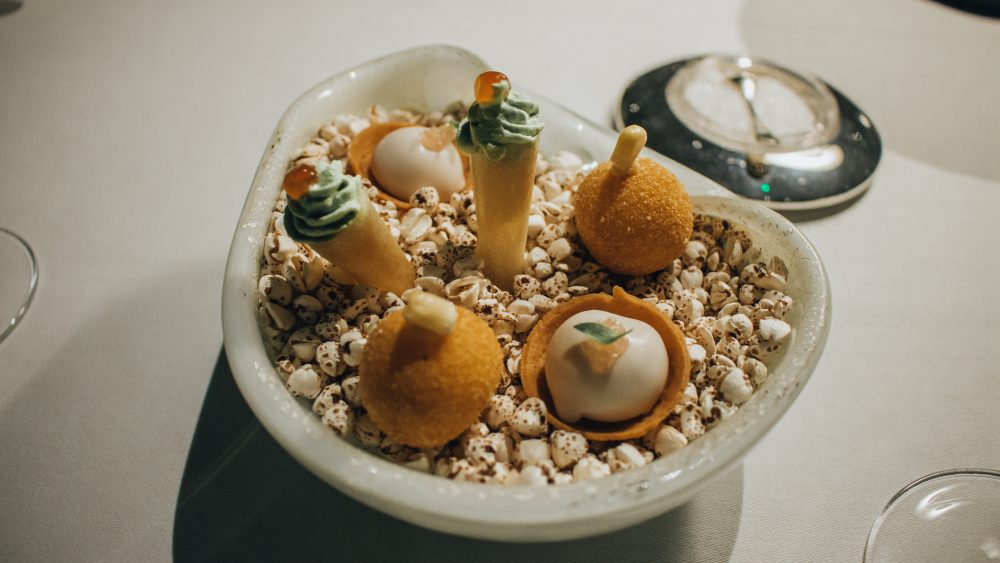 The Square London canapes review