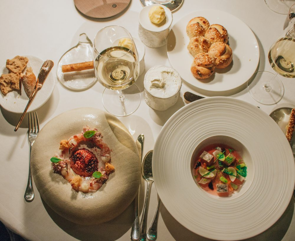 The Square michelin star London Chef Clement Leroy review