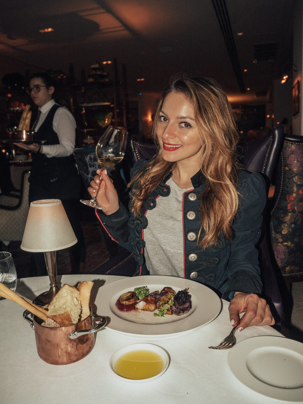 Whitney's Wonderland UK Top Food Blogger reviews Sartoria London