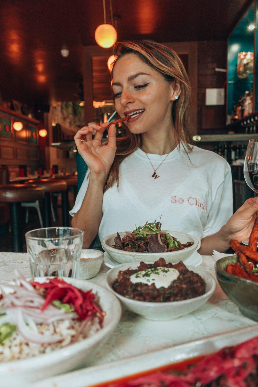 Whitney's Wonderland UK Top Food Blogger Best Brunch Spots in London Senor Ceviche