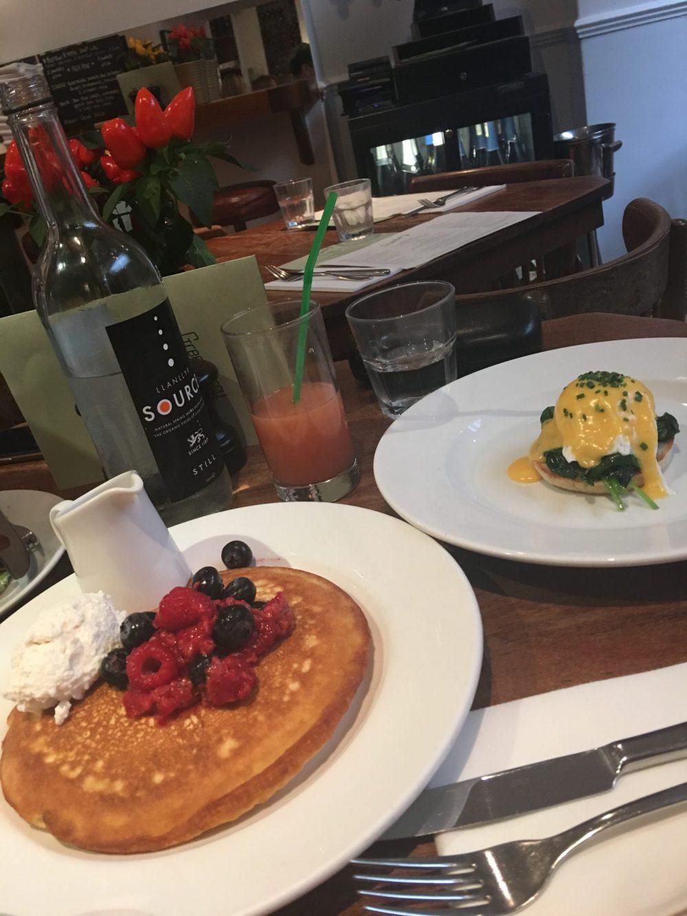 Best Brunch Spots in London on 2018 Greenberry Cafe