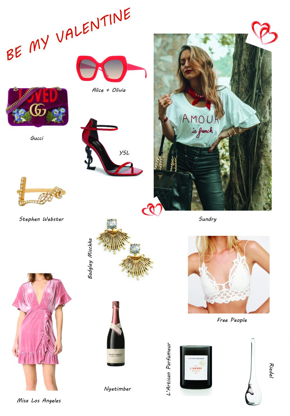 Whitney's Wonderland UK Top Fashion and Lifestyle Blogger shares her Top 10 Valentine's Day Gift Ideas for Her you won't find anywhere else!