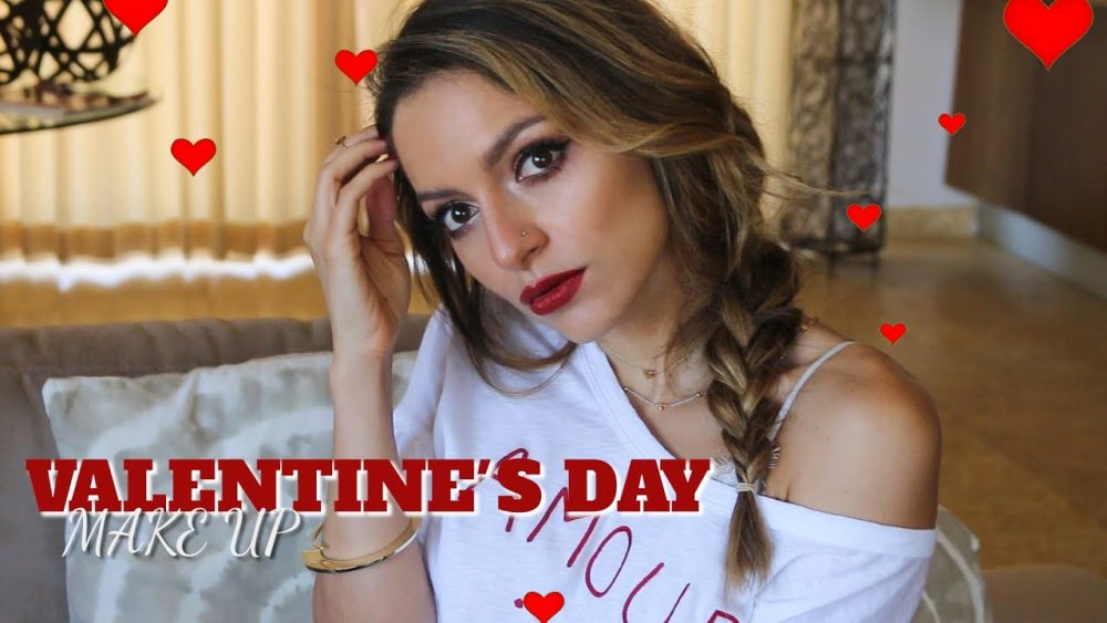 Whitney's Wonderland UK Top Beauty Blogger shares an easy Valentine's Day Makeup Tutorial using new releases from Armani and Louboutin Beauty as well as all time favourites from MAC, NYX, and more!
