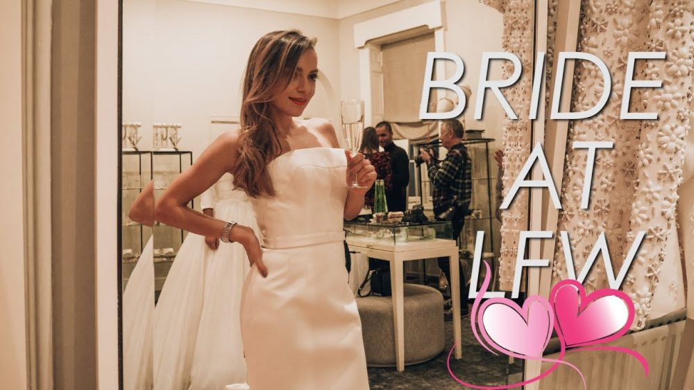 Trying On Wedding Dresses And Being Deceived At Lfw