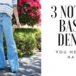 THE 3 DENIM TRENDS YOU NEED ON YOUR WARDROBE THIS SPRING